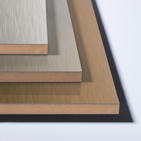 Metalliske plater